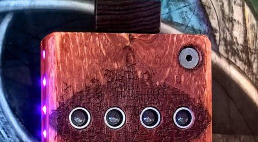 The Hog Shed Monster - Sonar-gesteuerter Wavetable Synthesizer