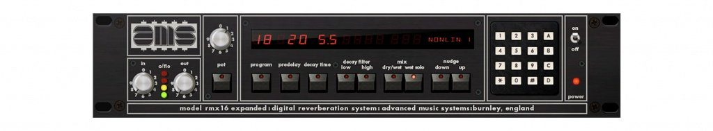 UAD AMS RMX16 Expanded GUI