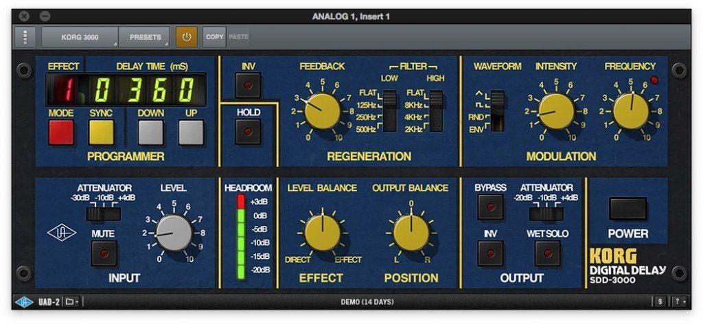 UAD Korg SDD-3000