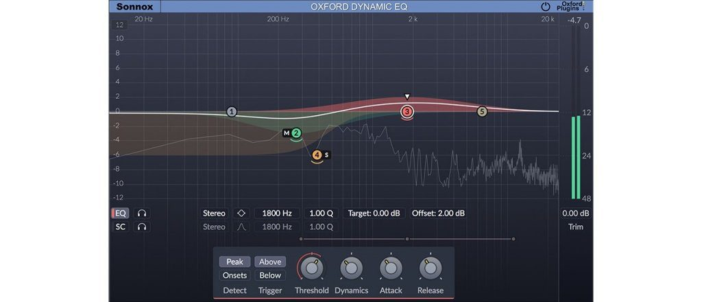 UAD Sonnox Oxford Dynamic EQ