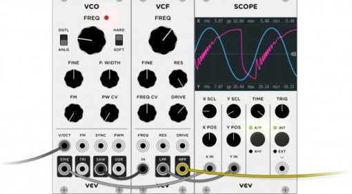 VCV Rack - die virtuelle Open Source Eurorack DAW