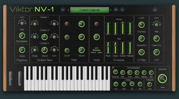 Viktor NV-1 Browser-Synth