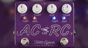 Xotic Effects AC RC OZ Signature Effekt Pedal Front