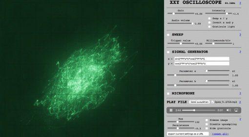XXY Oscilloscope - das kostenlose Messgerät im Browser