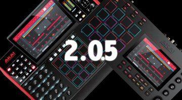 Akai MPC X und MPC Live 2.0.5 Firmware Update