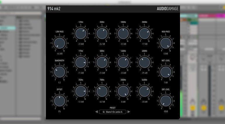 Audio Damage 914 mk2 - die Filterbank für Filmmusiker