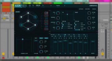 Audio Damage Axon 2 - Drums aus neuronalem Netzwerk