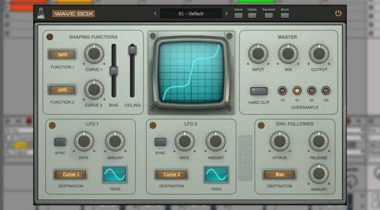 AudioThing Wave Box - der dynamisch duale VST-Waveshaper