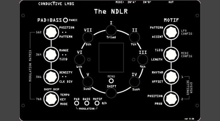 Conductive Labs NDLR Arpeggiator