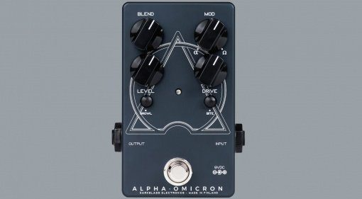 Darkglass Alpha Omicron Bass Distortion Pedal Front