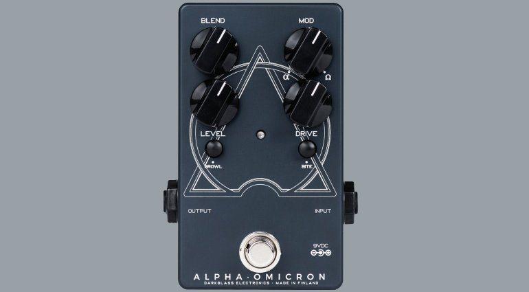 Darkglass Alpha Omicron Bass Distortion Pedal Front