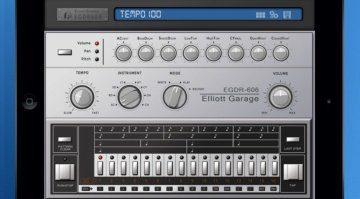 ElliotGarage EGDR606 - die Roland TR-606 für das iPad