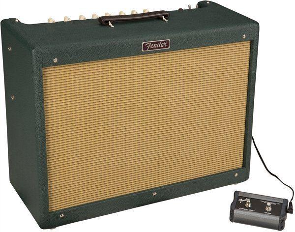 Fender Blues Deluxe Emerald Wheat FSR Slant