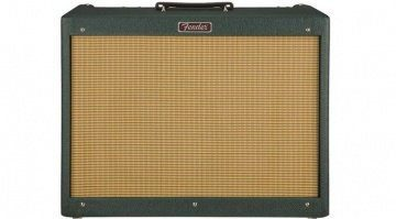 Fender Blues Deluxe Emerald Wheat FSR Front