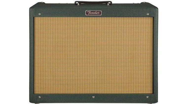 Fender Blues Deluxe Emerald Wheat FSR Front