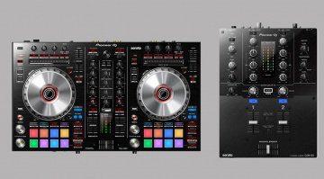 Pioneer DJM-S3 und DDJ-SR2
