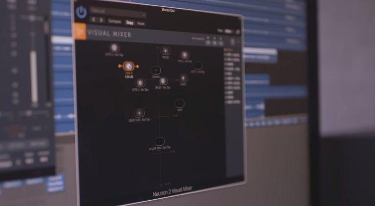 iZotope O8N2 Neutron 2 Virtual Mixer