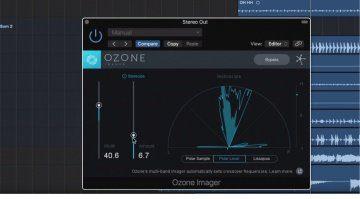 iZotope Ozone Imager Freeware Plug-in GUI