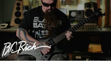 Kerry King B.C. Rich Warlock 2017 Signature Front
