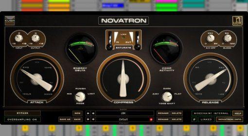 Kush Audio Novatron - Varitone Tube Compressor als VST