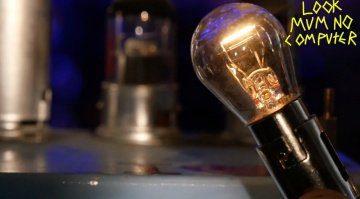 Do it yourself - Kompressor aus einer Glühbirne