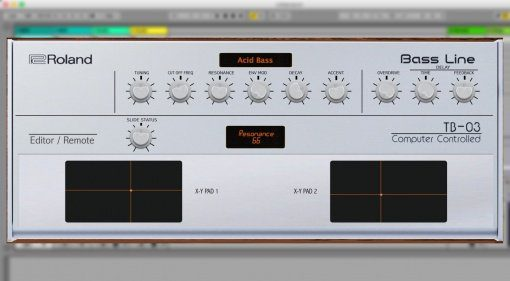 Momo Müller veröffentlicht Roland TB-03 Bass Line Midi Editor