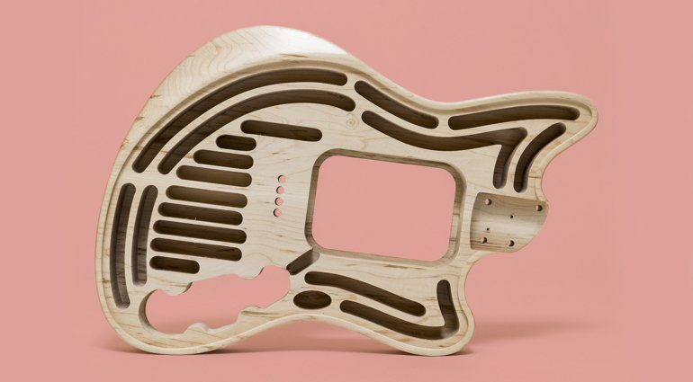 Moniker Guitars The Rival Series Hollow Offsets