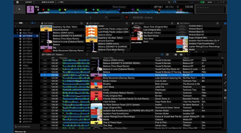 Pioneer DJ rekordbox 5