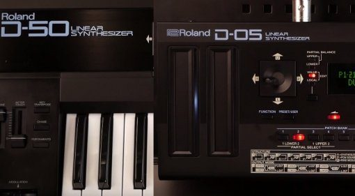 Roland D-50 vs D-05 Synthesizer Shootout Video Teaser