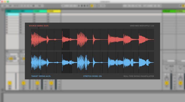 Sinevibes Reshuffle - Echtzeit Shuffle für Audioloops