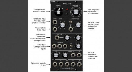Synthesizers.com Q106 Oszillator