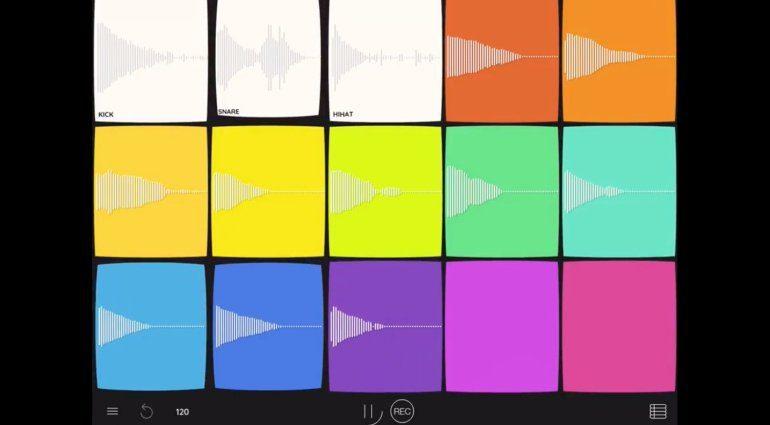 Intuitiver, lauter, bunter: Samplebot und Polyjamer für iOS