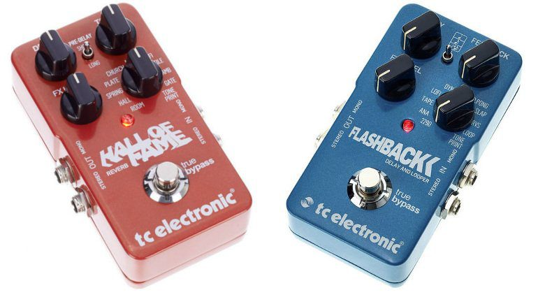 TC Electronic Flashback Delay Hall Of Fame Reverb Rabatt Pedal Front