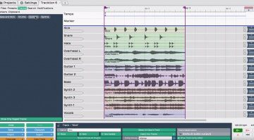 Tracktion T6 Free GUI