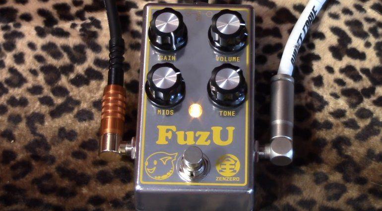 ZenZero FuzU Fuzz Pedal Front