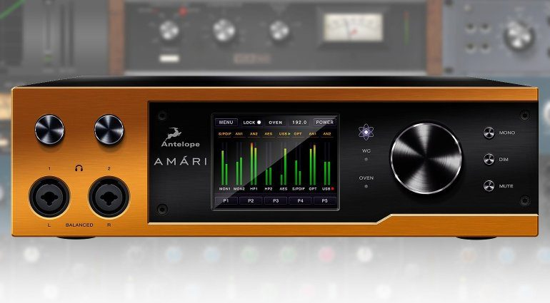 LEAK: Antelope Audio Amari - highend Desktop Interface