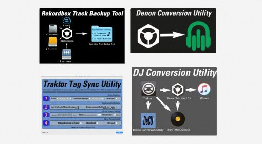 ATGR DJ Conversion Utilities & Tools