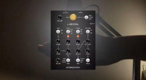 Atomosynth iAbyssal - kameragesteuerter iOS Synth