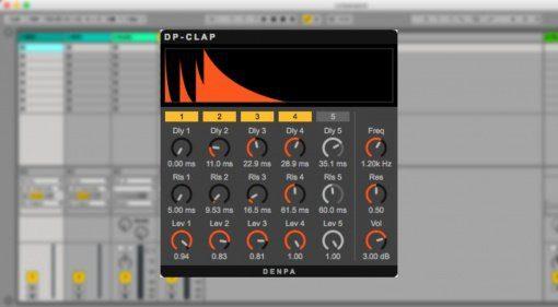 Denpa Studio DP-Clap - Roland TR-808/909 Clap als VST