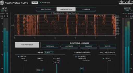 Eventide Newfangled Audio Elevate Mastering Limiter