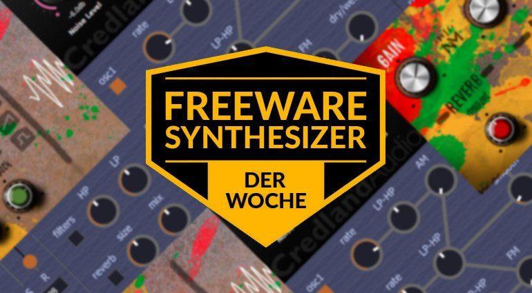 Freeware-Synthesizer der Woche: Noisetar, Siren und Pink