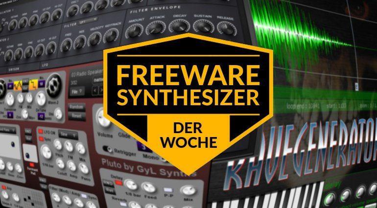 Freeware-Synthesizer der Woche: RaveGenerator 2, Syntaktion Basic und Pluto