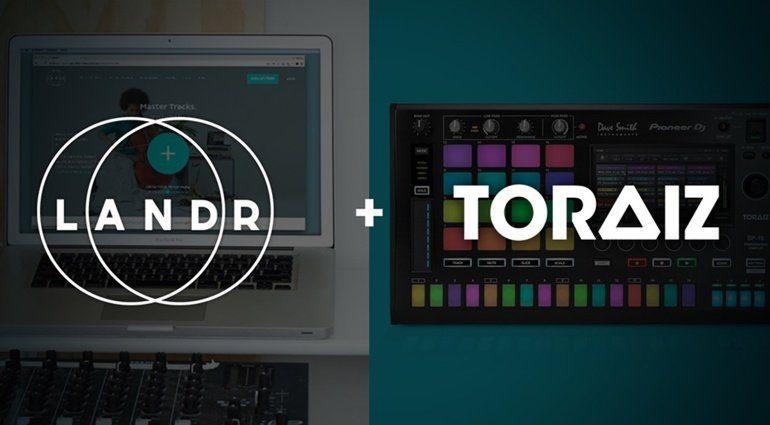 Pioneer DJ und LANDR: Instant-Mastering und digitale Distribution für TORAIZ