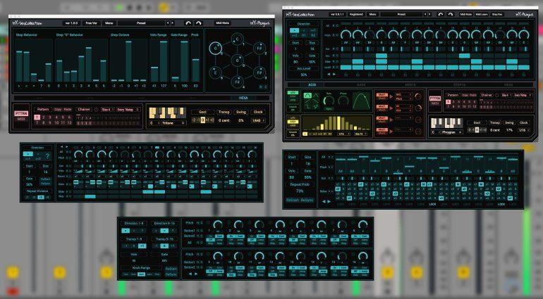 HY-Plugins SeqCollection - fünf VST-Sequencer im Paket, Hexa Seq kostenlos!