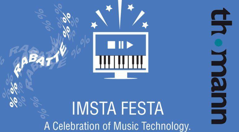 Thomann sponsort die IMSTA FESTA mit tollen Angeboten!