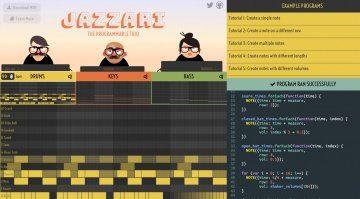 Jazzari - Javascript als kostenloses Kompositionswerkzeug