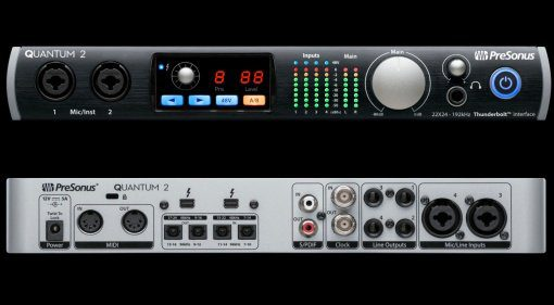 Presonus Quantum 2 Desktop Thunerbolt Interface Teaser