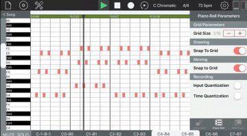 Rodrigo Roman Castro sequencism - kostenloser Sequencer für das iPad