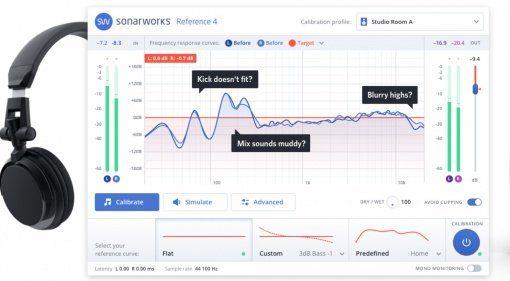 Sonarworks Reference 4 - Monitor Kalibrierung jetzt latenzfrei!