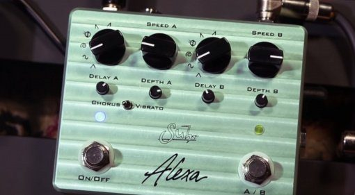 Suhr Alexa Chorus Vibrato Effekt Pedal Front